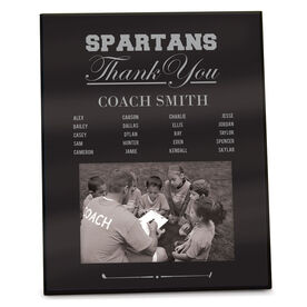 Golf Photo Frame Thank You Coach Roster