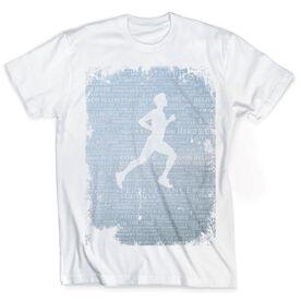 Vintage Running T-Shirt - Inspiration Male Grunge