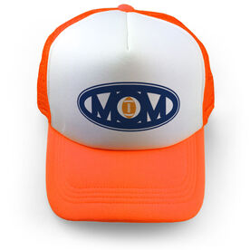 Football Trucker Hat - Mom Oval