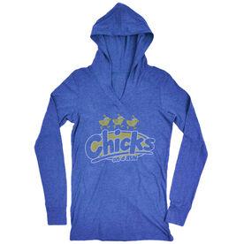 Women's Running Lightweight Performance Hoodie Chicks On A Run