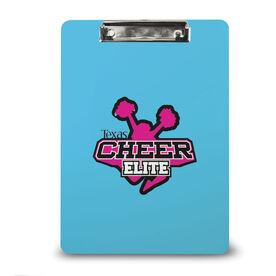 Cheerleading Custom Clipboard Cheer Custom Logo