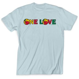 Basketball Tshirt Short Sleeve One Love Basketball