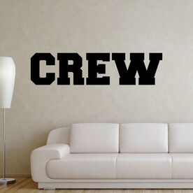 Crew Written Out Removable ChalkTalkGraphix Wall Decal