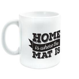 Wrestling Ceramic Mug Home is Where The Mat Is