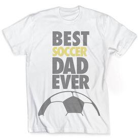 Vintage Soccer T-Shirt - Best Dad Ever