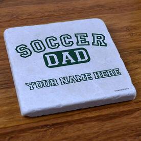Soccer Dad - Stone Coaster