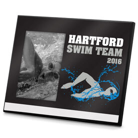 Swimming Photo Frame Swim Team Personalization Womens