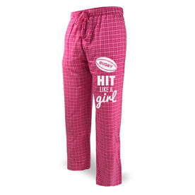 Rugby Lounge Pants Hit Like A Girl