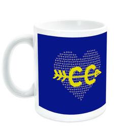 Cross Country Ceramic Mug Love