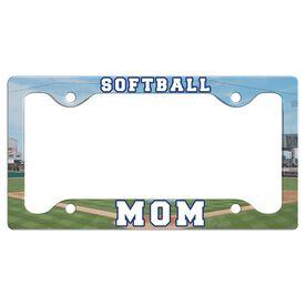 Softball Mom License Plate Holder