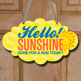 Hello Sunshine Decorative Cloud Sign