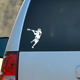 Vinyl Car Decal Overhand Shot Silhouette