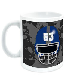 Football Ceramic Mug Personalized Helmet