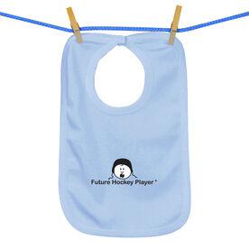 Future Hockey Player Baby Bib