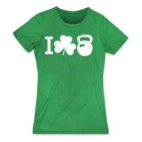 Women's Everday Tee I Shamrock Kettlebell