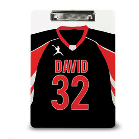 Guys Lacrosse Custom Clipboard Personalized Lacrosse Jersey