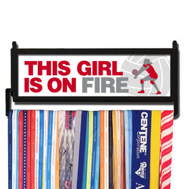 AthletesWALL This Girl Is On Fire Medal Display
