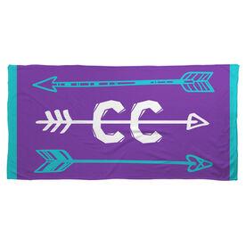 Cross Country Beach Towel Arrows