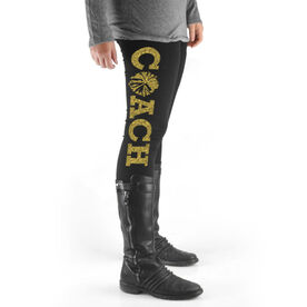 Cheerleading High Print Leggings Coach