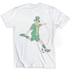 Vintage Soccer T-Shirt - Leprechaun
