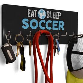Soccer Hook Board Eat Sleep Soccer
