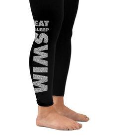 Swim Leggings Eat Sleep Swim