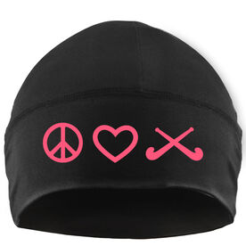 Beanie Performance Hat - Peace Love Field Hockey