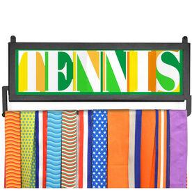 AthletesWALL Medal Display - Tennis Mosaic