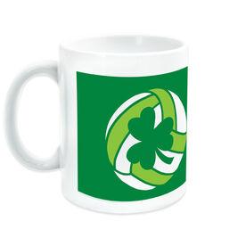 Volleyball Ceramic Mug Shamrock