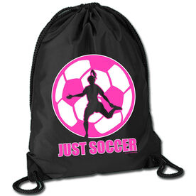 Soccer Sport Pack Cinch Sack Just Soccer (Female)