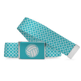 Volleyball Lifestyle Belt Volleyball Quatrefoil