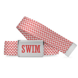 Swim Lifestyle Belt Swim Water Pattern