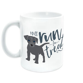 Running Ceramic Mug Will Run For Treats