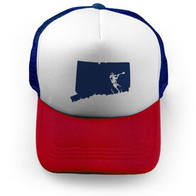 Guys Lacrosse Trucker Hat CT Lax Guys