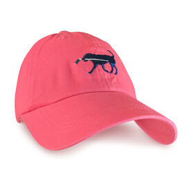 Hockey Dog Hat - Weathered Red