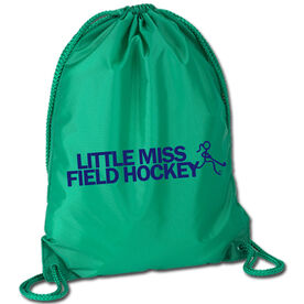 Field Hockey Sport Pack Cinch Sack Little Miss Field Hockey