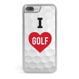 Golf iPhone® Case - I Love Golf