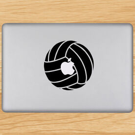 Volleyball Ball Removable ChalkTalkGraphix Laptop Decal
