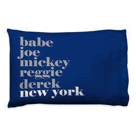 Baseball Pillowcase - Mantra New York