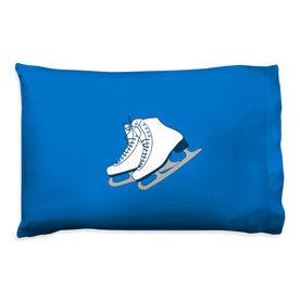 Figure Skating Pillowcase - Figure Skates