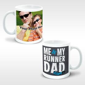 Running Ceramic Mug Me & My Runner Dad Custom Photo