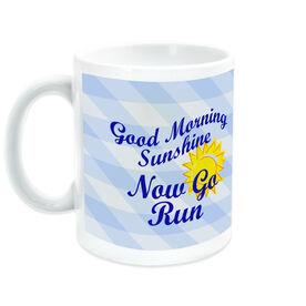 Running Ceramic Mug Good Morning Sunshine