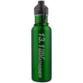 13.1 Half Marathoner 24 oz Stainless Steel Water Bottle