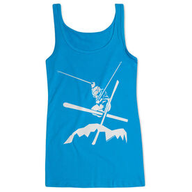 Skiing Women's Athletic Tank Top Airborne Skiing