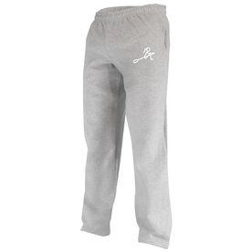 Crew Girl (Stick Figure-no word) Fleece Sweatpants