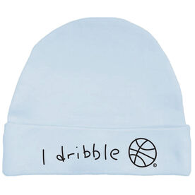 I Dribble Basketball Baby Cap