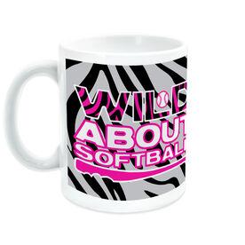 Softball Ceramic Mug Wild About