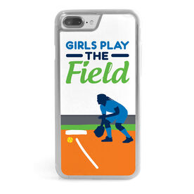 Softball iPhone® Case - Girls Play the Field