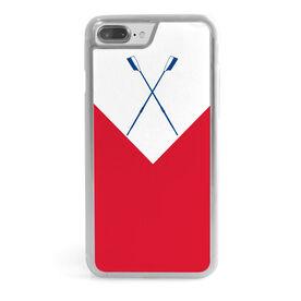 Crew iPhone® Case - Custom Club-Team Colors V Stripe