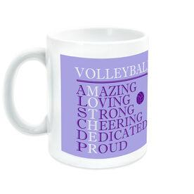 Volleyball Ceramic Mug - Mother Words